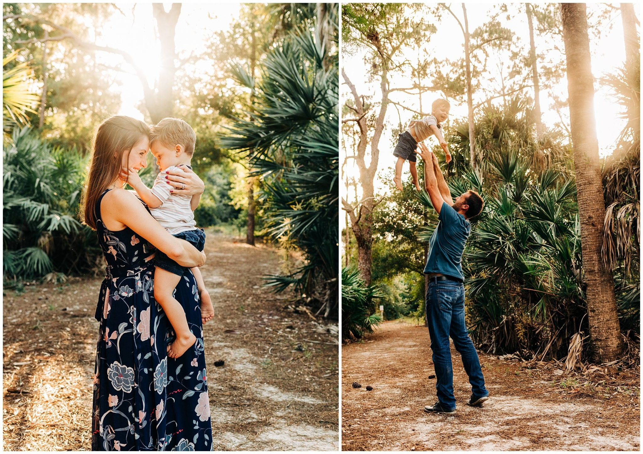 Family Maternity Session in Wellington, Florida